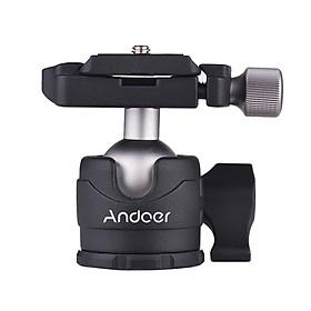 Đầu Nối Máy Ảnh Mini Xoay 360 Độ Andoer Cho Máy Ảnh DSLR Canon/Sony/iPhone X 8 7 6S Plus/Samsung/Galaxy/Gopro Hero 6/5/4/3 +