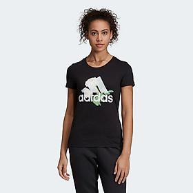 Áo Thun Tay Ngắn Nữ Adidas W MH Flower Tee - ED6160