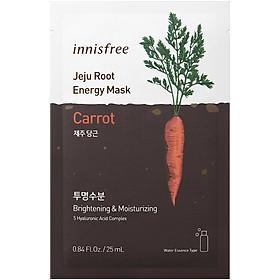 Mặt nạ dưỡng ẩm da Innisfree Jeju Root Energy Mask 25ml