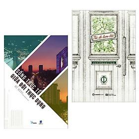Combo Kỹ Năng Sống Dành Cho Giới Trẻ: Sống Thực Tế Giữa Đời Thực Dụng + Tôi Đi Tìm Tôi (Sách Tư Duy - Kỹ Năng Sống Bán Chạy / Tặng Kèm Bookmark Green Life)