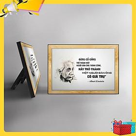 Tranh trích dẫn Albert Einstein WB115