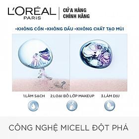 Nước Tẩy Trang Tươi Mát L'Oreal Paris Micellar Water (400ml)