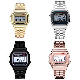 Đồng hồ điện tử thời trang thông minh nam nữ dây hợp kim cao cấp ZO51 - Đen