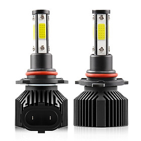 2Pcs IP68 Waterproof Car LED Headlight Bulbs LED Driving Lamp All-in-one Conversion Kit H7 50W