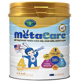 Sữa bột Nutricare Metacare 4 Mới - phát triển toàn diện cho trẻ 3-6 tuổi (400g, 900g)