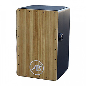 Trống cajon có tay vặn mặt gỗ thông, lưng gỗ 3 lớp - ABDRMT