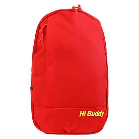 Túi Đeo Chéo Đa Năng Hi Buddy BHBD (27 x 40 cm) - Đỏ