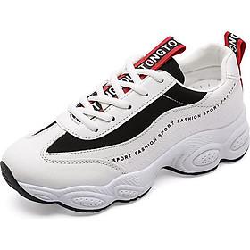 Giày Sneaker Nữ Kiểu Hàn Quốc Thêu Chữ Hapu