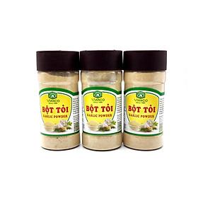 Combo 3 hũ Bột Tỏi Việt Ấn (80gr/hũ)