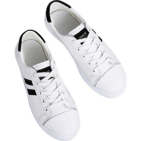 Women's Korean Casual Shoes Microfiber Leather Wild White Shoes