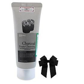 Sữa rửa mặt dành cho nam chiết xuất than hoạt tính sạch bã nhờn sạch da Benew Hàn quốc ( 100ml) và nơ