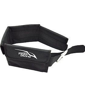 Scuba Adjustable Pocket Diving Weight Belt With Stainless Steel Buckle Water Sport Equipment