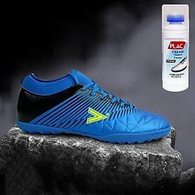 Giày bóng đá Mitre MT161110 màu xanh dương - Tặng bình làm sạch giày cao cấp