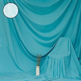 Phông vải đơn sắc xanh da trời 2.9x3m