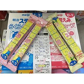 Sữa Meiji Số 0 Dạng Thanh Cho Trẻ Từ 0 Đến 12 Tháng Tuổi nội địa Nhật Bản (48 thanh)