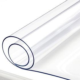 Miếng Dán Mặt Bàn Nhựa PVC Trong Suốt