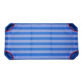 Giường Ngủ Xếp Cho Trẻ Mầm Non (Mẫu Giáo) Bằng Vải Lưới Mềm Giúp Bé Ngủ Ngon Giấc, Khung Inox Chắc Chắn Gấp Gọn & Di Chuyển Dễ Dàng -  QP (Kích thước 160 x 60)