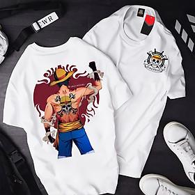 Áo One Piece Luffy ATT-08, Áo thun Anime Manga One Piece Monkey D. Luffy Unisex Nam Nữ