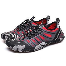 Giày đi dưới nước chống trơn trượt, gọn nhẹ, sử dụng nhiều lần, phù hợp đi du lich, leo núi, thân thiện với môi trường, chịu nước tốt và nhanh khô, nhiều màu lựa chọn (SA053-R - 41)
