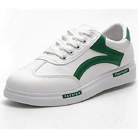 Giày sneaker nữ mẫu mới siêu hot YAMET SN66389XT Trắng phối xanh
