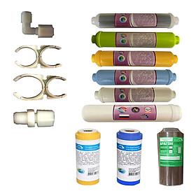 Lõi lọc nước số 1 đến 9 dùng cho máy lọc nước Nano