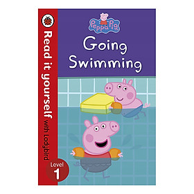 Peppa Pig: Going Swimming - Read It Yourself with Ladybird Level 1 - Read It Yourself (Paperback)