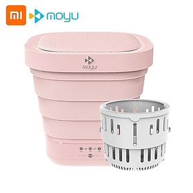 Xiaomi Youpin Moyu Wash Machine XPB08-F2 2 in 1 Portable Foldable Mini Washer Clothes Washing and Spin Dryer for Home
