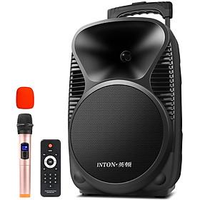 Hình đại diện sản phẩm Loa Thùng Di Động Bluetooth Kèm Micro Không Dây INTON T3