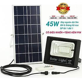 ĐÈN NĂNG LƯỢNG MẶT TRỜI 100W - 180W - 80W - 60W - 45W  SOLAR LIGHT - ĐIỀU KHIỂN TỪ XA - PIN SẠC TRỌN DỜI - D1147