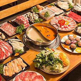 Hệ Thống Taka BBQ - Buffet Lẩu Trưa / Tối Chuẩn Vị Hàn Quốc  Menu 219K