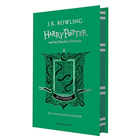 Harry Potter Part 2: Harry Potter And The Chamber Of Secrets (Hardback) Slytherin Edition (English Book)