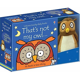 Usborne That's not my owl boxed set