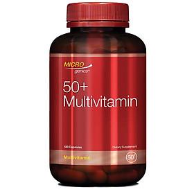 Microgenics 50+ Multivitamin 120 Capsules