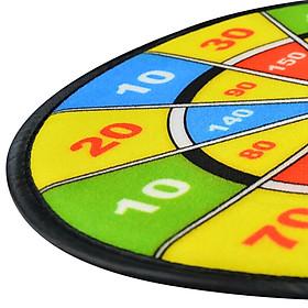 ENPEX sticky ball dart board parent-child baby sports toys boys and girls flannel sucker dart target 2 set-1