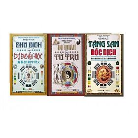 Combo 3 cuốn Tăng san bốc dịch, Dự đoán theo tứ trụ, Chu dịch với dự đoán học 977