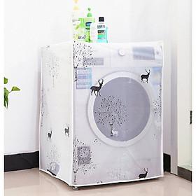Áo trùm máy giặt mẫu mới loại dày cao cấp - Giao mẫu ngẫu nhiên.