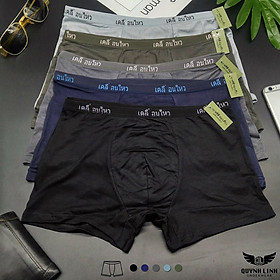 Quần Lót Nam cao cấp, quần xì nam, đồ lót nam, chữ Thái, vải cotton 2 chiều QL63