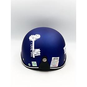 Mũ bảo hiểm Chita 1/2 - CT6B1 Nón cặp Tem chìa khóa- ổ khóa