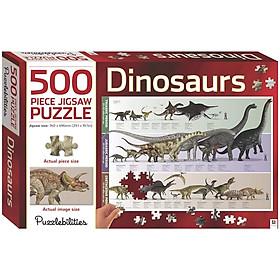 500 Piece Jigsaw Puzzle: Dinosaurs