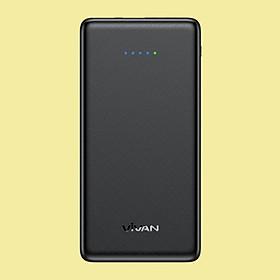 [[ Chỉ 30p sạc 50% pin iPhone X - KÈM VIDEO ]] - Pin sạc dự phòng 10000mAh Vivan 3 cổng sạc USB | 22.5W - 5A Sạc nhanh QC 3.0 Power Delivery PD Cổng Type C - Hàng Chính Hãng