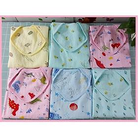 Ủ bông xốp cho bé sơ sinh, Khăn ủ bông xốp mềm mại cho bé 0 - 1 tuổi