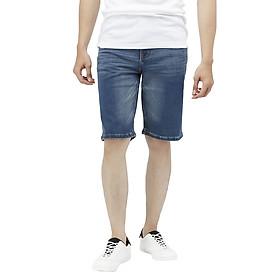 Quần Short Nam Cotton Jeans Slimfit Vĩnh Tiến JEAN 22 - Xanh Nhạt