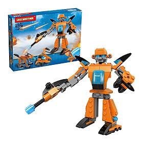Bộ Lắp Ráp Sandstorm Lele Brother - Transformer Fighter 3in1 8279 (133 Mảnh Ghép)