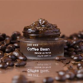Tẩy Tế Bào Chết Môi Hạt Cà Phê ZEE ZEE - Coffee Bean Natural Lip Scrub 20g