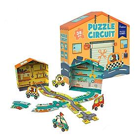 Xếp Hình Nhà Và Đường Xe 3D Mideer