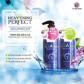 Cặp dầu gội xả dưỡng chất suôn mượt tóc Heavening Perfect-10