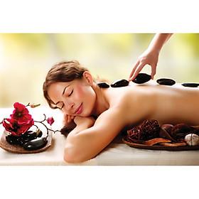 Massage Khỏe - Liệu Trình 110 Phút Massage Body/Massage Foot - Tinh Dầu/ Đá Nóng Thải Độc Bấm Huyệt