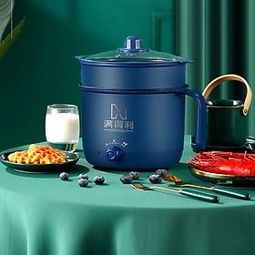 Ca nấu mỳ MANDELI đa năng dung tích 1.8L (Màu xanh dương)