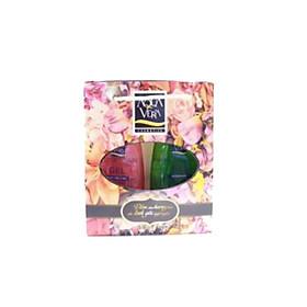 Bộ quà gel tắm dưỡng da Aquavera chiết xuất lan hồ điệp và oải hương