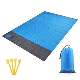 Waterproof Beach Blanket Outdoor Portable Picnic Mat Camping Ground Mat Mattress